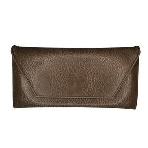 Matt & Nat Gray Vegan Leather Envelop Wallet